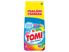 Tomi Max Power Color prašak za veš, 90 pranja