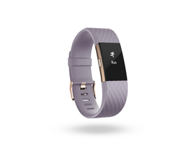 Фитнес гривна Fitbit Charge 2  [FB407RGLVS-EU] размер S,   levendula/rosegold