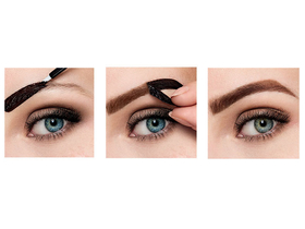 Maybelline Tattoo Brow ideiglenes szemöldökfesték, Medium Brown