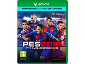 PES 2018 Premium Edition XBox One hra