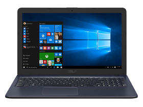 Notebook Asus VivoBook X543UA-GQ1703T, gri inchis + Windows 10 (tastatura layout HU)