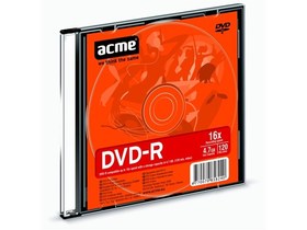 Disc Acme DVD-R, 120min,4,7GB, 16X