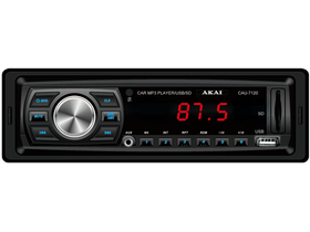 AKAI CAU-7120 rádio do auta SD/MMC, USB