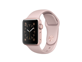 Apple Watch Series 2 gold rose, curea Pink Sand,  38mm  (mnny2mp/a)