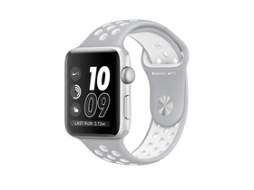 Apple Watch Nike+, 38mm Silver/White (mnnq2mp/a)
