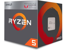 AMD Ryzen 5 2400G 3.6GHz AM4 box processzor (YD2400C5FBBOX)