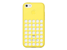 Apple iPhone 5c Case, жълт (mf038zm/a)