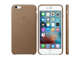 Toc din piele Apple iPhone 6s Plus, maro (mkx92zm/a)