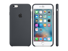 Toc silicon Apple iPhone 6s Plus gri (mkxj2zm/a)