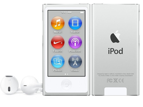 Apple iPod nano, srebrn (mkn22hc/a)