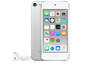 Apple iPod touch 16GB, silver (mkh42hc/a)