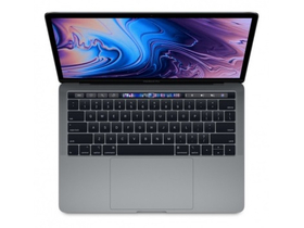 "Apple MacBook Pro 13"" Touch,QC i5 2.3GHz,8GB,256GB SSD,Intel Iris Plus 655, magyar bill., asztroszürke (mr9q2mg/a)"