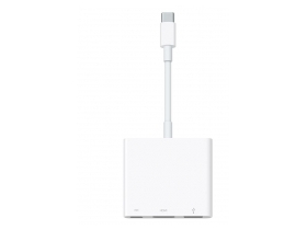 Apple USB C – digitális AV többportos USB Type-C - HDMI, UDB C, USB 3.1 adapter (mj1k2zm/a)