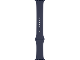Apple Watch 38 mm-es éjkék sportszíj