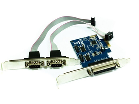 Approx APPPCIE1P2S 2x serial /1 kos  Parallel PCI-E kartica