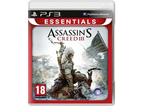 Assassins Creed 3. Essentials CZ/HUN PS3 játékszoftver