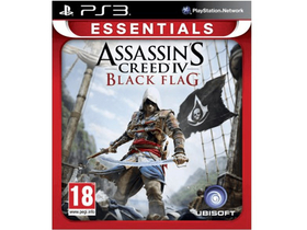 Assassins Creed 4 Black Flag Essentials PS3 játékszoftver