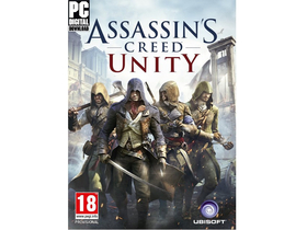 Assassins Creed Unity PC játékszoftver