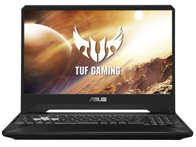 Notebook gamer Asus TUF Gaming FX505DU-AL052, negru (tastatura layout HU)