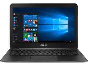 Asus Zenbook UX305UA-FC046T notebook Windows 10, fekete +Office 365 Personal + McAfee Internet Security