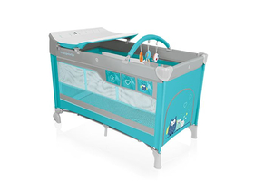 Patut pliabil Baby Design Dream , turcoaz