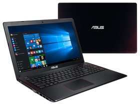Asus X550VX-XX067D notebook, fekete + McAfee Internet Security