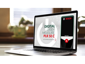 Bosch Digitaler Laser Entfernungsmesser Plr 50 C : Bosch plr c entfernungsmesser extreme digital