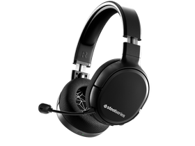 SteelSeries Arctis 1 wireless gamer headset, crni