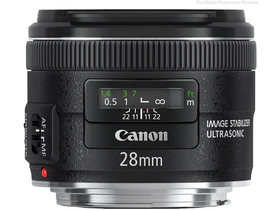 Canon 28/F2.8 IS USM EF обектив