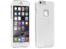 Case Mate originalna plastična zaščita za telefone barely there Apple iPhone 6 4.7``, bela
