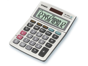 Calculator de masă Casio MS-120, 12digit, ecran mare