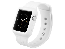 Baseus Fresh-Color Plus series Sports Apple Watch 38 mm popruh, biely