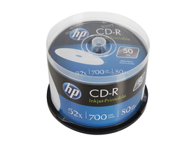 HP 700MB, 52x CD-R disk