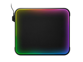 Mousepad gamer cu fir Steelseries Qck Prism, iluminare RGB