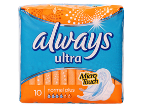 Absorbante Always Ultra Normal Plus   (10buc.)