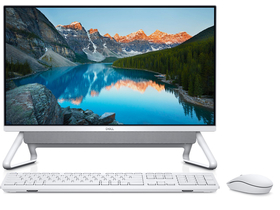 Dell Inspiron DT 5400 5400I5WA2 All in One Desktop, silber + Windows10