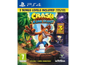 Crash Bandicoot Nsane Trilogy 2.0 PS4 játékszoftver