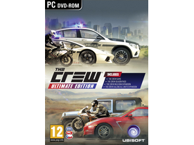Ubisoft The Crew Ultimate Edition PC játékszoftver