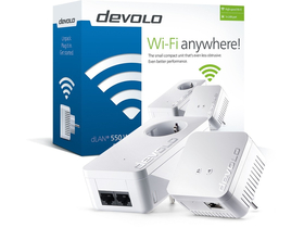 Devolo D 9638 dLAN 550 WiFi Starter Kit Powerline