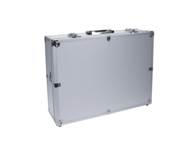 Geamantan foto/video Dörr Aluminum Case 1, argintiu