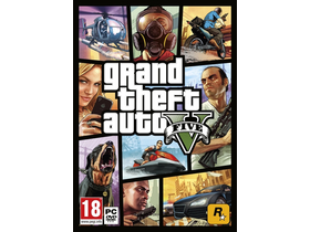 Grand Theft Auto V (GTA V) PC Spielsoftware