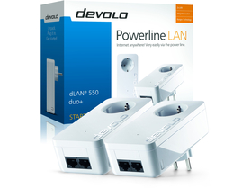 Devolo D 9303 dLAN 550 duo+ Starter Kit