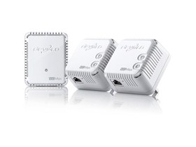 DEVOLO dLAN 500 WiFi Network Kit (3 buc. dispozitive powerline)