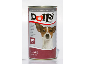 Dolly Dog konzerv borjús, 1,24kg (DOLLI54)