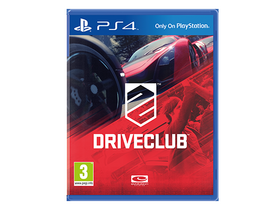 DriveClub PS4 softver igra