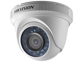 Hikvision (DS-2CE56D0T-IRF) 4в1 аналогова камера за външна сигурност (2MP, 3.6mm, IR20m, D&N (ICR), IP66, DNA)