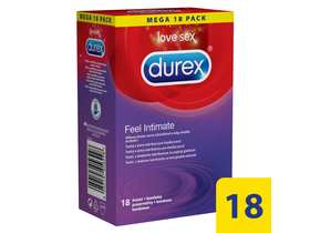 Durex Feel Intimate kondom, 18 kom.