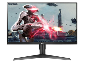 LG 27GL650F-B Ultragear™ FullHD IPS 144Hz G-Sync 1ms Gaming Monitor