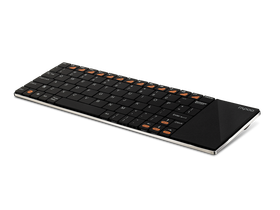 Tastatura wireless Rapoo E2700 Blade Slim touchpad, negru, layout ENG