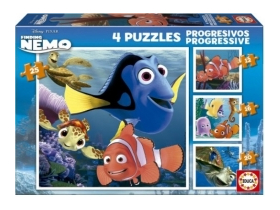 Puzzle Educa Disney Nemo, 4 in 1